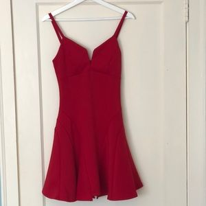 Mystic red dress: